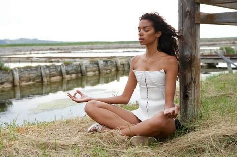 yoga beneath the water