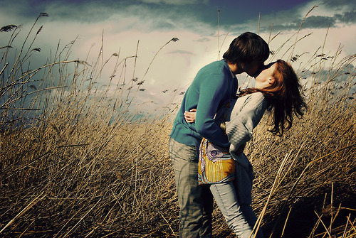 poljub ljubezen