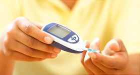 using glucose meter